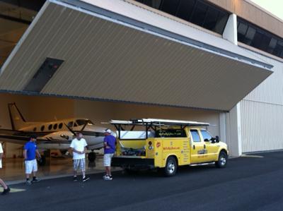 Dynamic Door Service Airplane Hangar Doors Phoenix Az